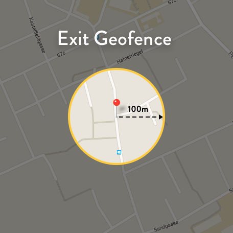 Exit Geofence