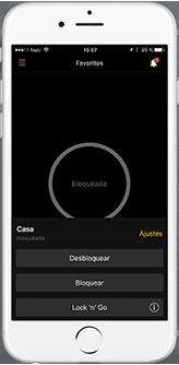 Nuki App Screen