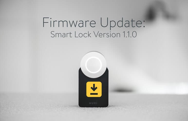 Nuki Smart Lock - Firmware Update for your door lock
