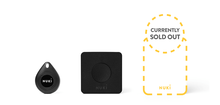 Smart Lock is sold out