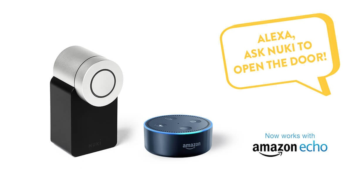 Nuki now supports Amazon Alexa