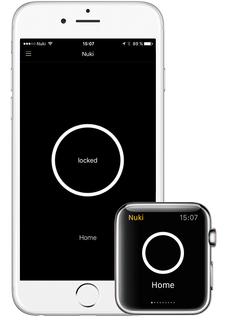smart watch app for smart lock
