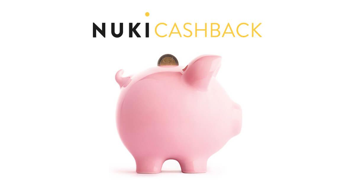 cashback holen sie sich ihr geld zur ck nuki. Black Bedroom Furniture Sets. Home Design Ideas