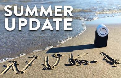 Das Summer Update für dein Elektronisches Smart Lock