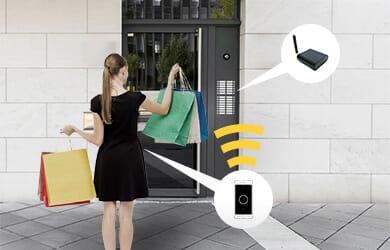 Nuki Box - Elektronisches Türschloss für die Hauseingangstür
