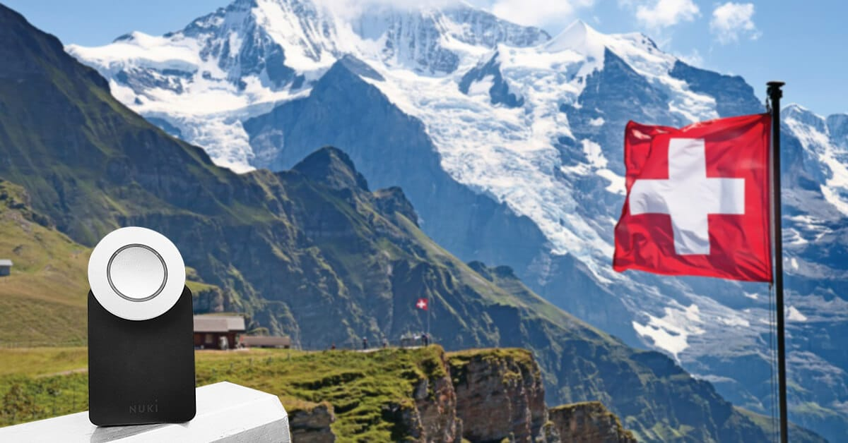 The elektronic doorlock in Switzerland- Nuki.io