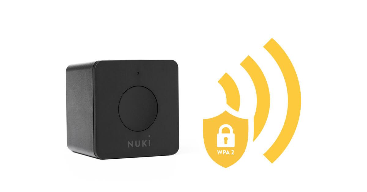Smart Lock WPA 2 safe