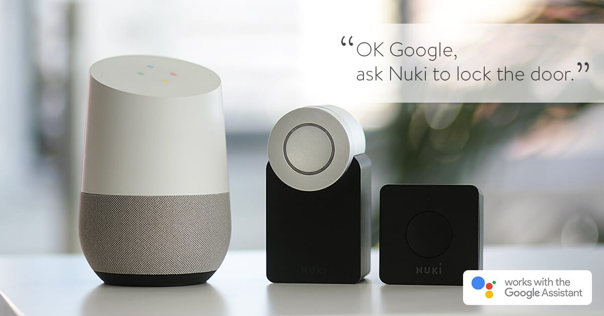Nuki Smart Lock Google Home Assistant