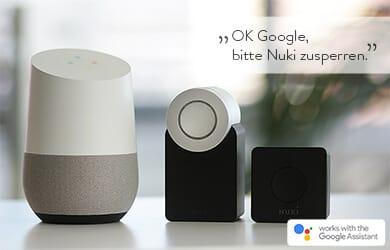 Google Home - Nuki - Google Assistant