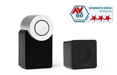 Nuki sicherstes Smart Lock weltweit - AV-Test
