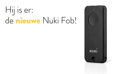 Hij is er: de nieuwe Nuki Fob!