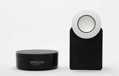 Nuki works with Amazon Alexa | Smart Home Nuki