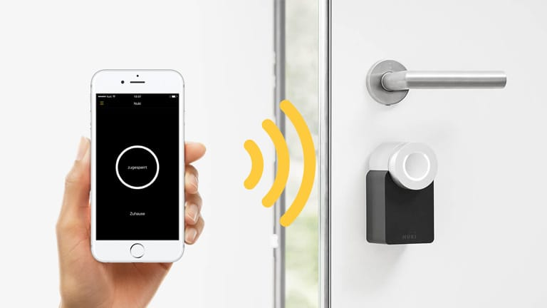 Buy Now Nuki Smart Lock   Smart Phone As Smart Key
