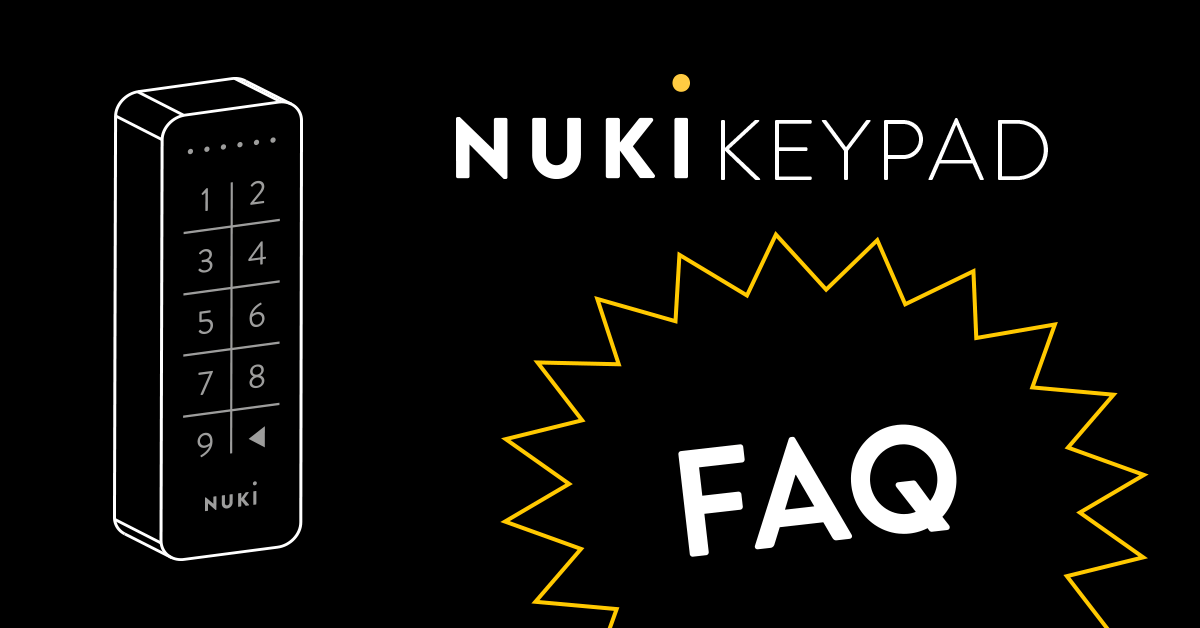 Nuki Keypad / The intelligent extention for your Smart Lock