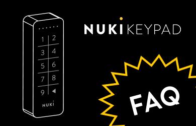 Nuki Keypad / The intelligent extention for your Smart Lock