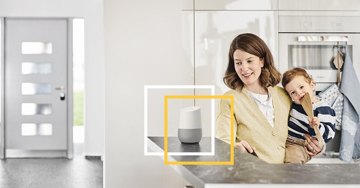 Nuki Smart Lock - Google Assistant Smart Skill | Die perfekte Smart Home Geschenkidee für Männer zu Weihnachten