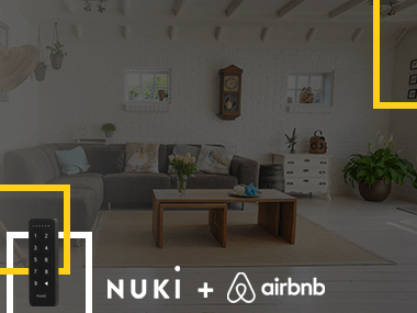 oi-nuki and airbnb comfort check-in-keypad-smart Home