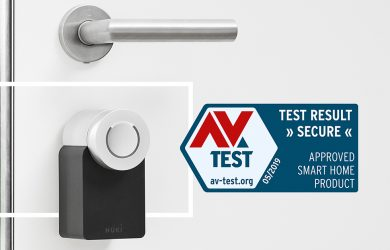 Nuki Smart Lock - Proven security by AV-Test
