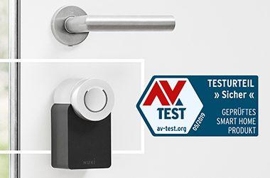 AV-Test bestätigt die Sicherheit vom Nuki Smart Lock - 2019 // Nuki als sichere Smart Home Produkt ausgezeichnet