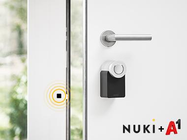 Nuki Smart Lock kooperiert mit Kommunikationsanbieter und Smart Home Experte A1