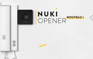 Nuki Opener - disponible dès maintenant !