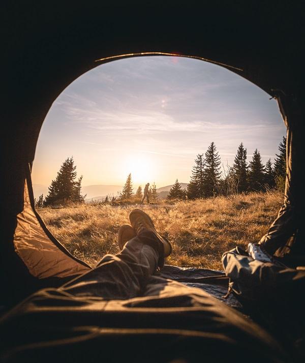 Raus aus dem Alltag, rein in die Natur - eine Nacht im Zelt