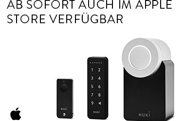 Apple Stores verkaufen ab sofort Nuki Smart Lock