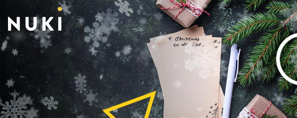 Die ultimative Checkliste für ein entspanntes Weihnachtsfest