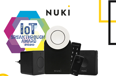 Nuki wins IoT Breakthrough Award