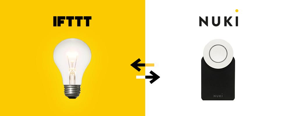 Tutoriel : comment connecter Nuki à IFTTT