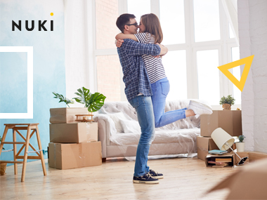 Is there a right time to give your partner the house key? We'll give you the answer as well as a smart alternative_Nuki Smart Lock