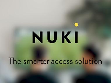 Nuki - die smarte Zutrittslösung für Zuhause und das Büro. Einfache Kontrolle per Smartphone auch von Unterwegs