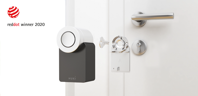 Nuki Smart Lock 2.0 wint Red Dot Design Award: Interview met Harald Gründl (EOOS) en Jürgen Pansy (Nuki)