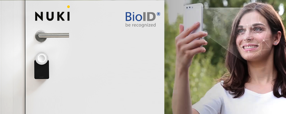 Integration Nuki & BioID: Open the front door via the Nuki app and BioID facial recognition