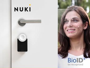 Integration Nuki & BioID: Open the front door via the Nuki app and BioID facial recognition