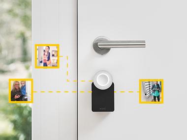 La serrure connectée Nuki offre un accès intelligent au domicile pour toute la famille