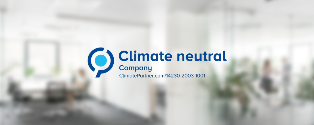 ClimatePartner confirms Nuki as a climate neutral company