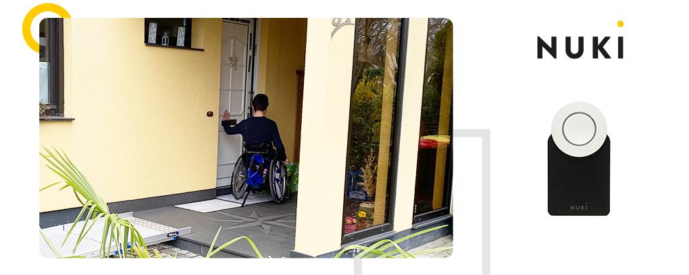 Nuki für Menschen mit Beeinträchtigung: Erfahrungsbericht von Mark Heigenfeld