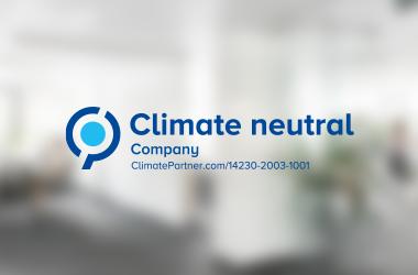 ClimatePartner confirms Nuki as a climate neutral company