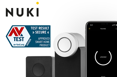 AV-TEST Germany: Nuki Combo 2.0 again approved as secure Smart Home Product