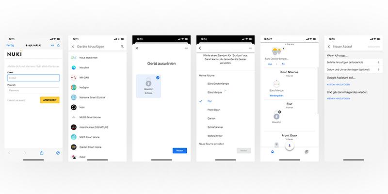 So wird's gemacht: Nuki mit Google Assistant verbinden
