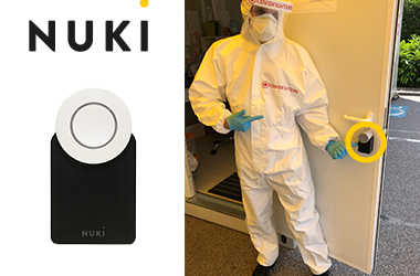 Covid-Fighters setzen auf Nuki Smart Locks bei ihren Corona Testlabors