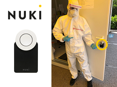 Covid-Fighters setzen auf Nuki Smart Locks bei ihren Corona Testlabors