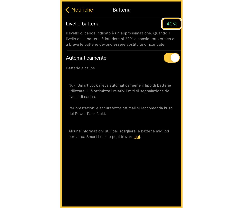 battery percentage indicator and new Smart Lock setup process