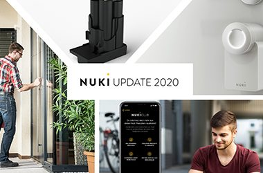 As part of a digital event, Smart Lock pioneer Nuki Home Solutions from Graz presented a number of innovations relating to smart access control.