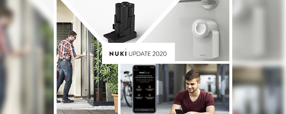 We present: Nuki White Edition, Nuki Power Pack, Nuki Club & installation service!