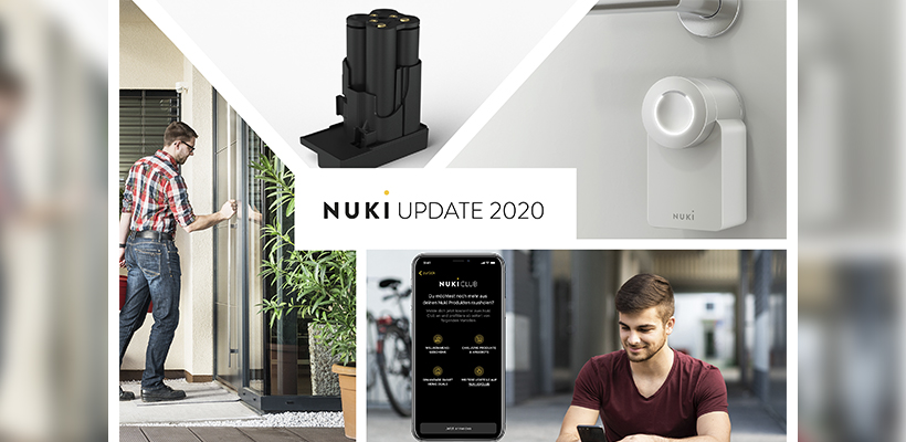 Wir präsentieren: Nuki White Edition, Nuki Power Pack, Nuki Club & Installationsservice!