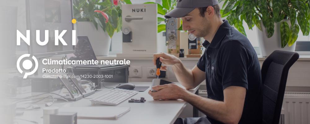 La neutralità climatica delle Nuki Smart Lock attestata da ClimatePartner