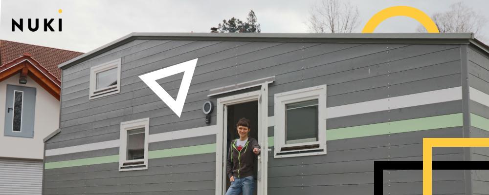 Nuki im Tiny House: Ein smartes Schloss für ein smartes Haus