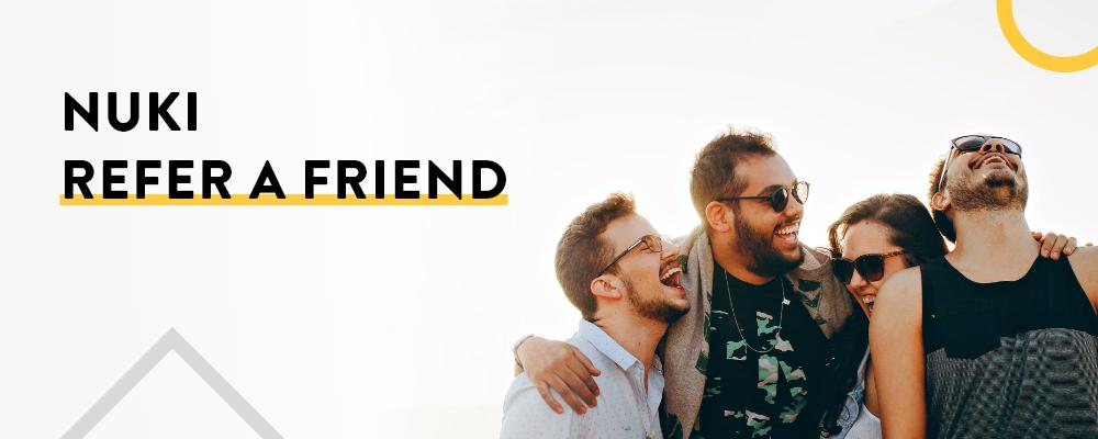 Nuki Empfehlungsprogramm: So empfiehlst du Nuki deinen Freunden und erhältst tolle Prämien